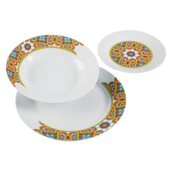 Dinnerware Set Aubrey Porcelain (18 Pieces)
