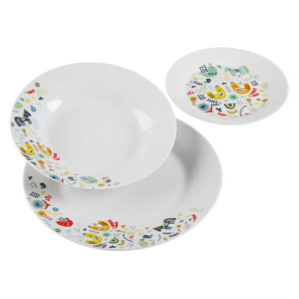 Dinnerware Set Manaia Porcelain (18 Pieces)