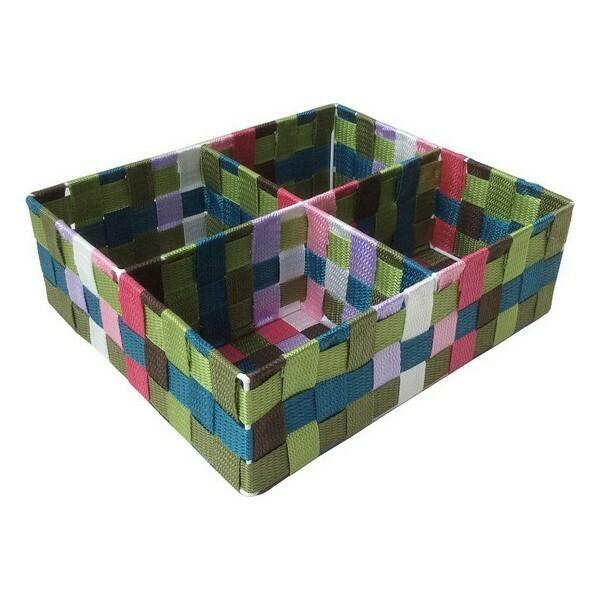 Box with compartments Multicolour