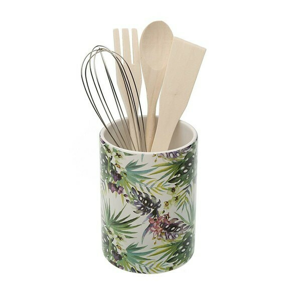 Pot for Kitchen Utensils TROPICAL Ceramic