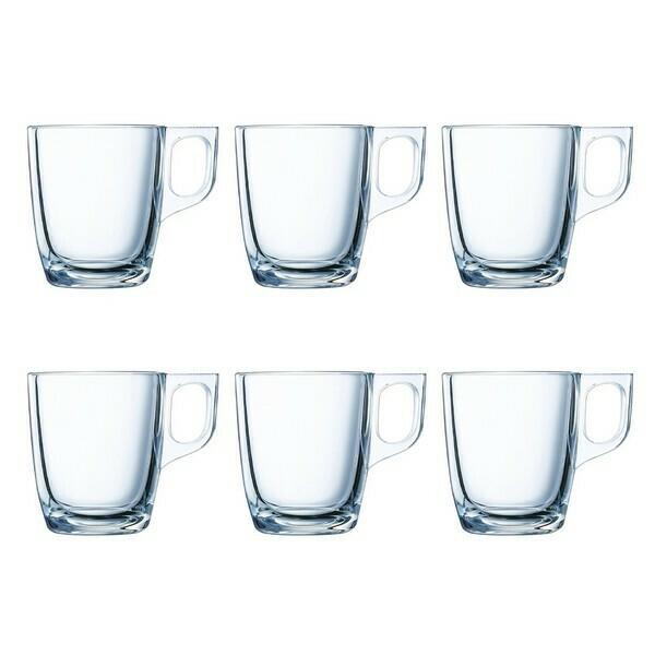 Piece Coffee Cup Set Luminarc (6 pcs) 9 cl