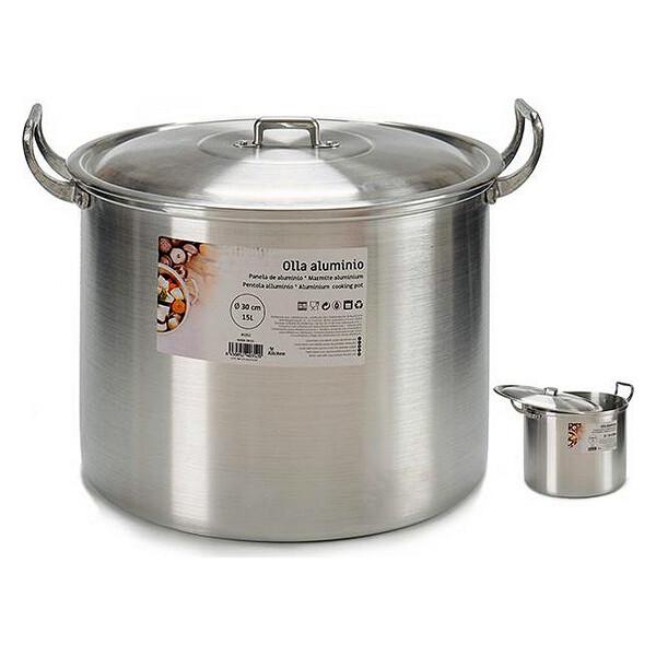 Slow Cooker Aluminium 15L 30 cm (33 x 27,5 x 37 cm)