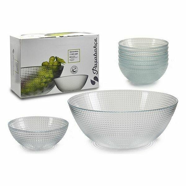 Set of bowls (27 x 16,5 x 40,5 cm) (7 Pieces)