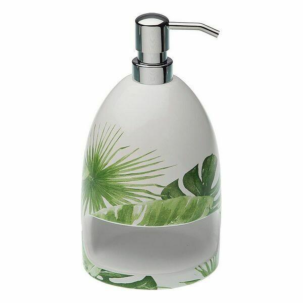 Soap Dispenser New Leaves Ceramic