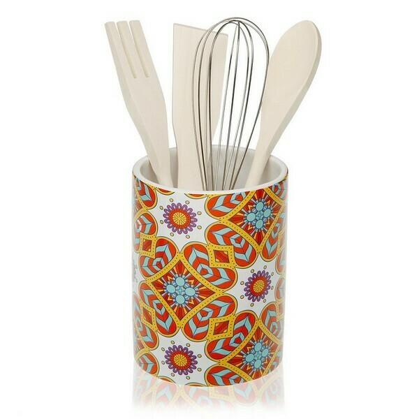 Pot for Kitchen Utensils AUBREY Ceramic