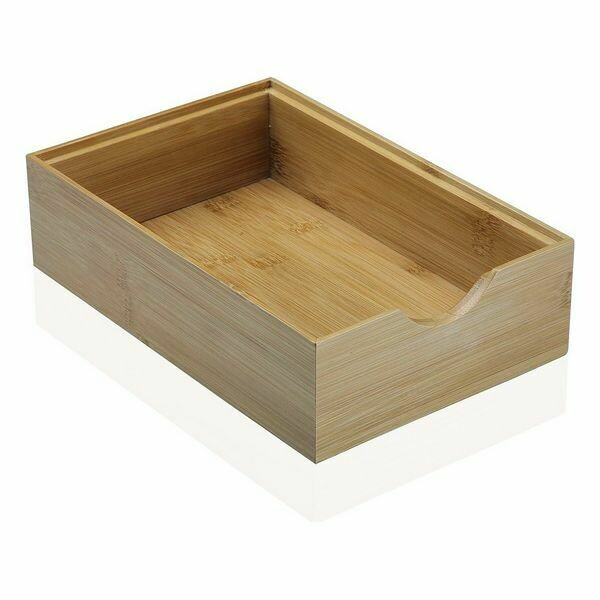 Multi-use Box Bamboo (15,2 x 6,4 x 23 cm)