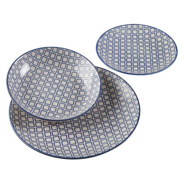Dinnerware Set Electra Ceramic (18 Pieces)