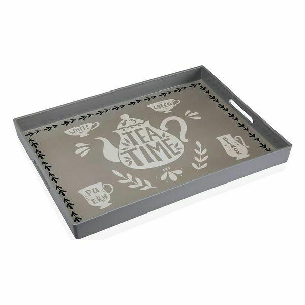 Tray Tea Time Plastic (35,5 x 4 x 48 cm)