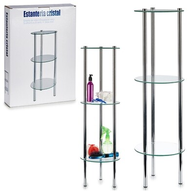 Bathroom Shelves Transparent (31 x 7 x 31 cm)