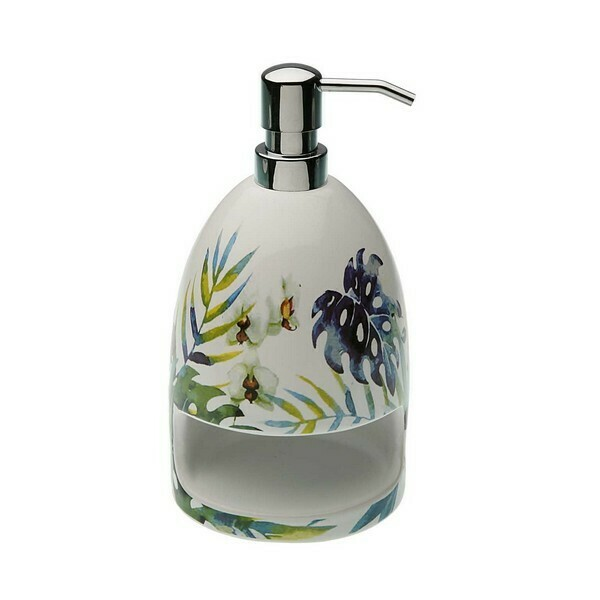 Soap Dispenser Tropical Ceramic