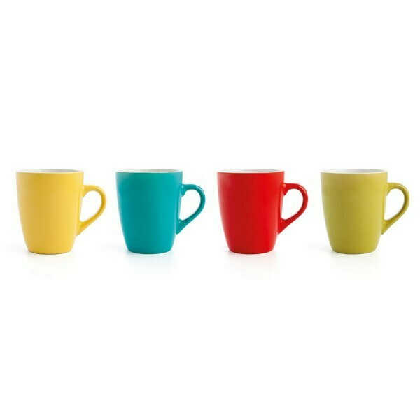 Set of Mugs Quid Hábitat (4 pcs) 33 cl