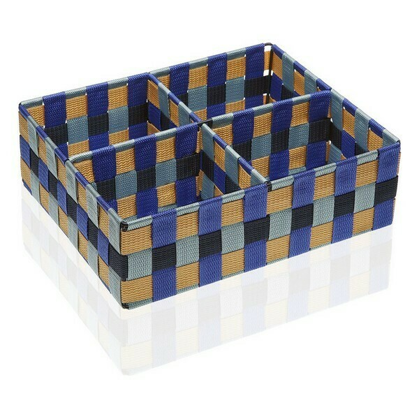 Box with compartments Blue Bay Textile