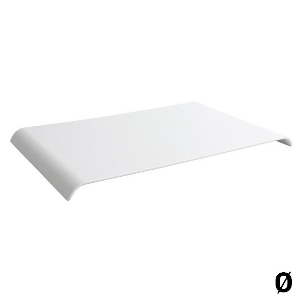 Tray Rectangular White