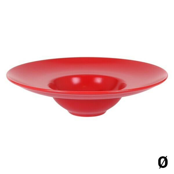 Plate Inde Risotto Red