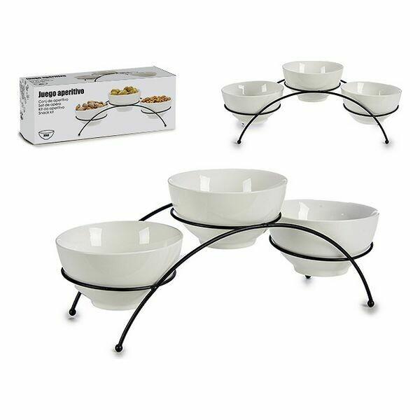 Set of bowls Porcelain (11 x 11 x 31,5 cm)