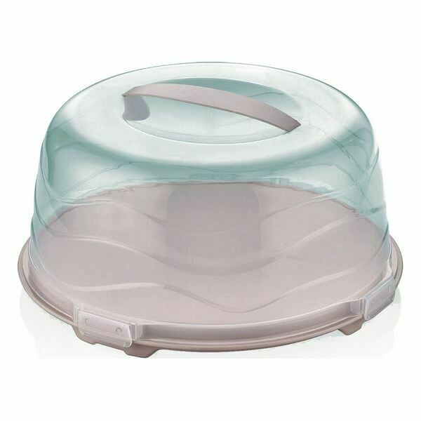Lunch box Privilege Plastic (Ø 34 cm) (34 x 34 x 16 cm)
