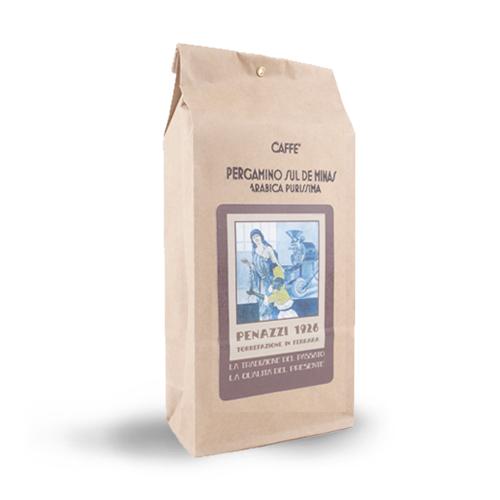 CAFFE' PERGAMINO SUL DE MINAS - BRASIL 250 gr