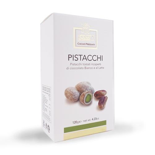 PISTACCHI AL CIOCCOLATO 120 gr
