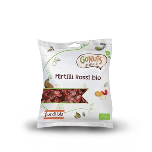 MIRTILLI ROSSI BIO 50 gr