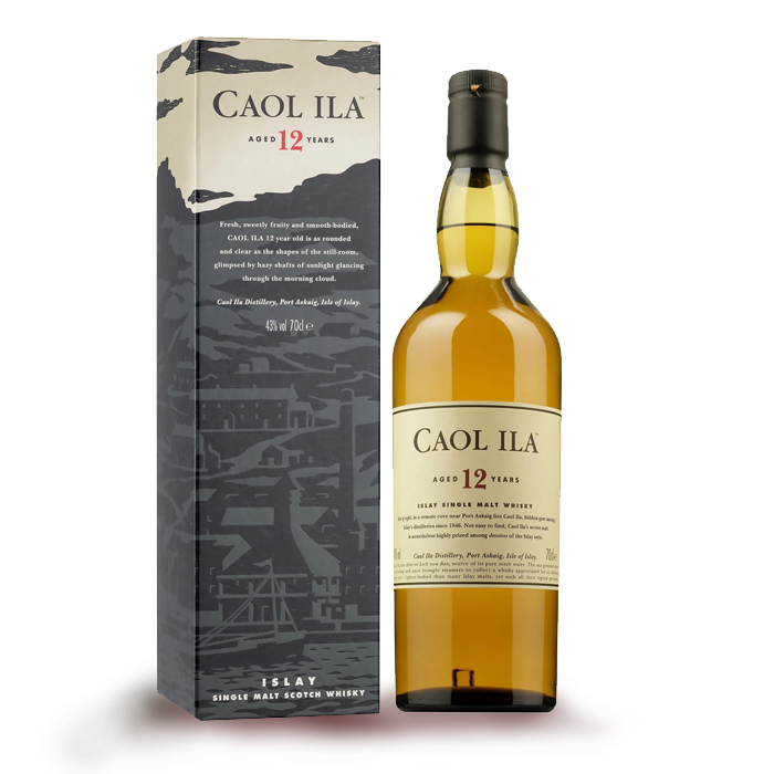 WHISKY CAOL ILA 12 ANNI  SINGLE MALT