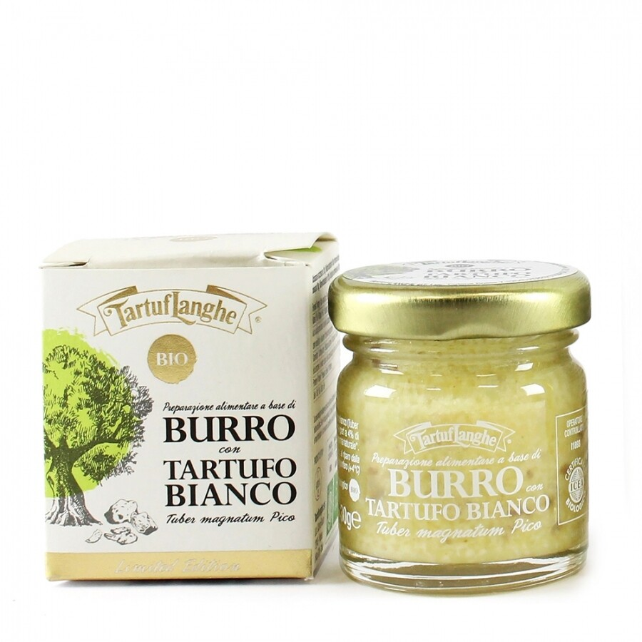 BURRO CON TARTUFO BIANCO BIO 30 gr