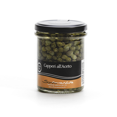 CAPPERI ALL'ACETO 120 gr