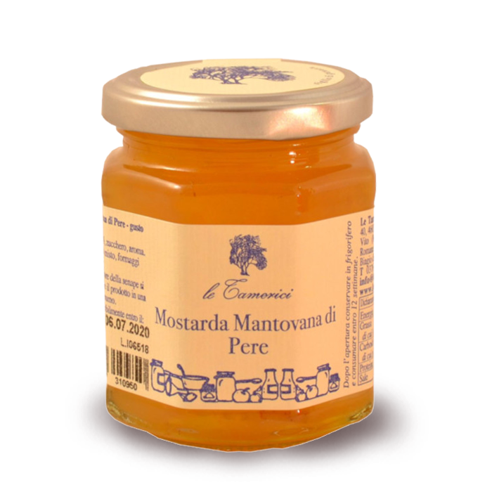 MOSTARDA MANTOVANA DI PERE 120 gr