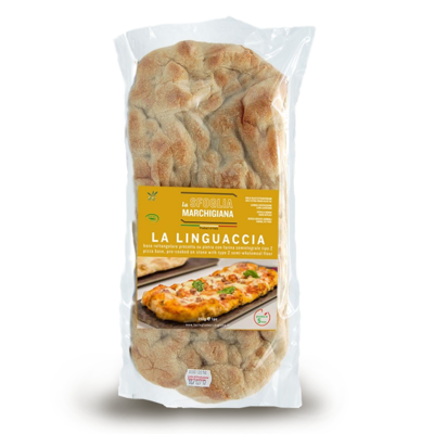 BASE PIZZA LA LINGUACCIA 250 gr