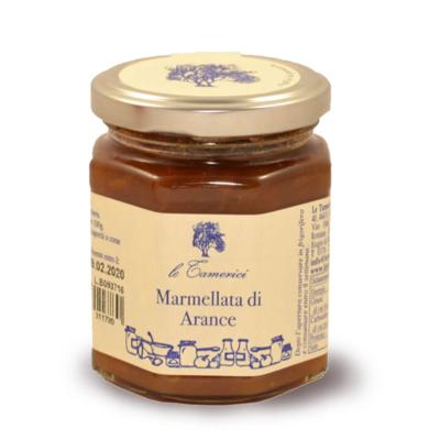 MOSTARDA DI ARANCE 120 gr