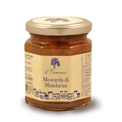 MOSTARDA DI MANDARINI 220 gr