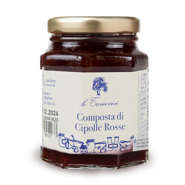 COMPOSTA DI CIPOLLE ROSSE 220gr