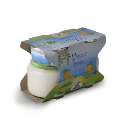 YOGURT BIOLOGICO - ALBICOCCA
