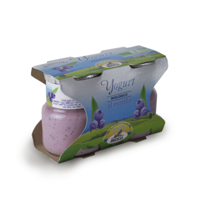 YOGURT BIOLOGICO - MIRTILLO