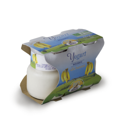 YOGURT BIOLOGICO - BANANA