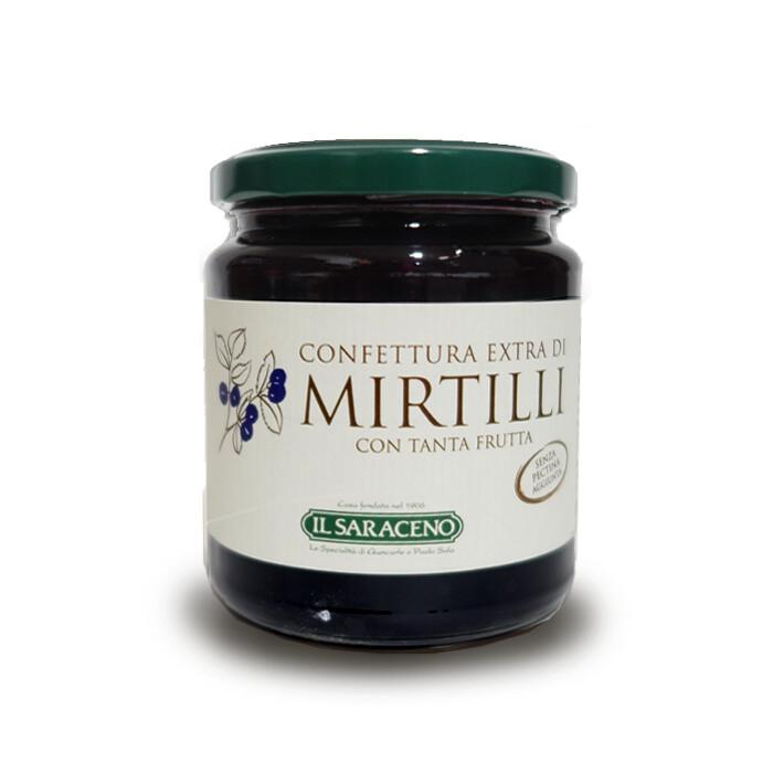 CONFETTURA EXTRA MIRTILLI 350 gr