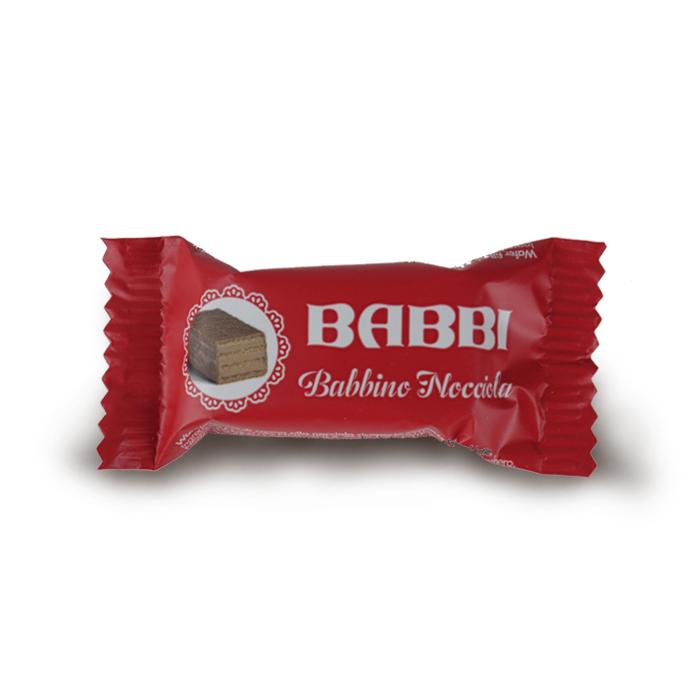 WAFER BABBINO ALLA NOCCIOLA 10 gr