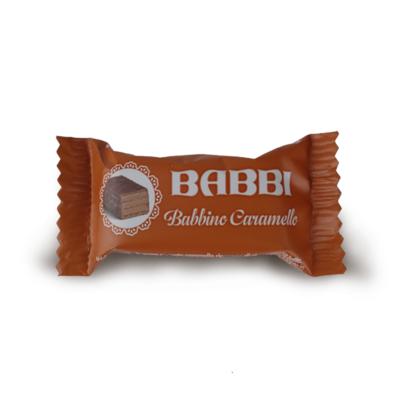 WAFER BABBINO AL CARAMELLO 10 gr