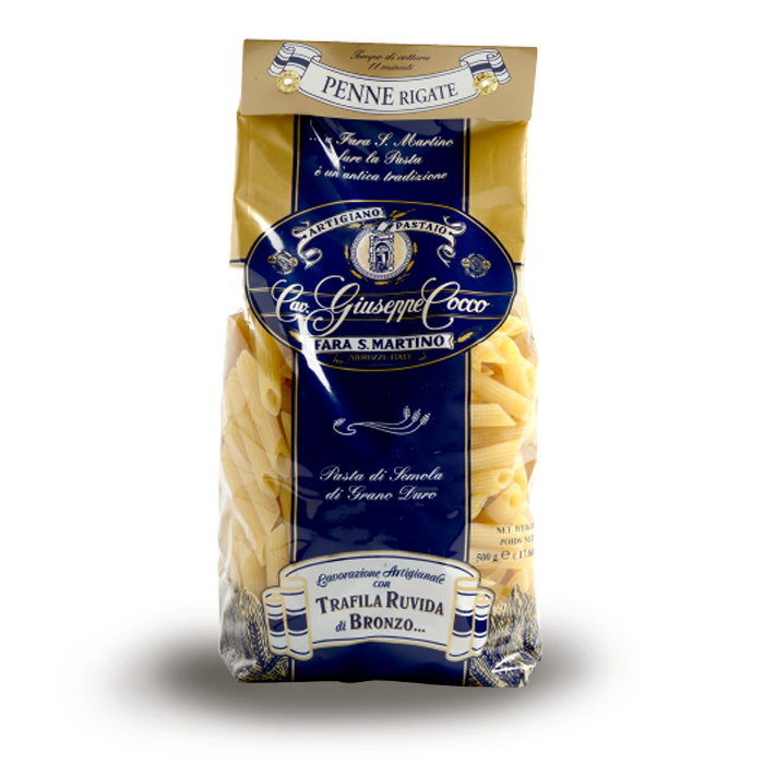 PENNE RIGATE COCCO  500 gr