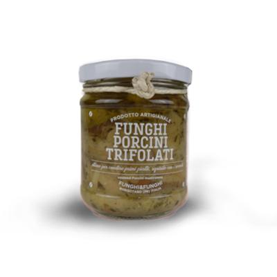 FUNGHI PORCINI TRIFOLATI 180 gr