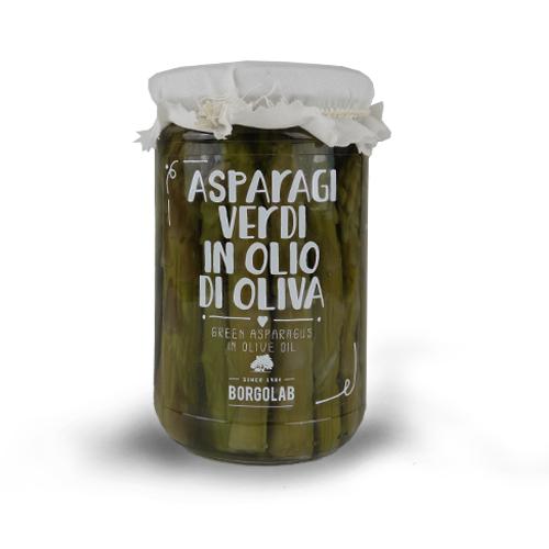 ASPARAGI VERDI IN OLIO DI OLIVA 270 gr
