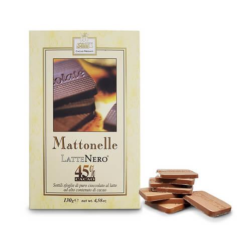 MATTONELLE LATTENERO 45% 130 gr