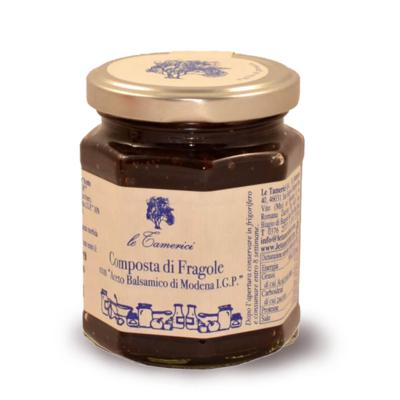 COMPOSTA DI FRAGOLE 120 gr