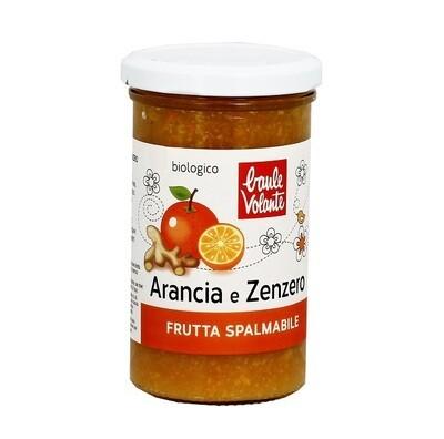 ARANCIA E ZENZERO FRUTTA SPALMABILE 280 gr