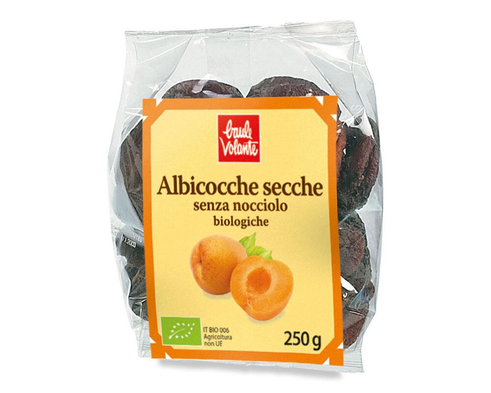 ALBICOCCHE SECCHE BIO 250 gr