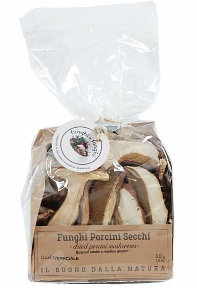 FUNGHI PORCINI SECCHI 50 gr