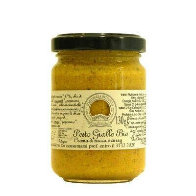 PESTO GIALLO BIOLOGICO 130 GR
