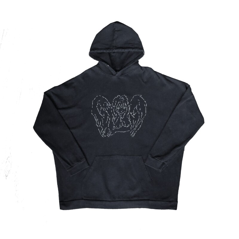 Black ASCII Hoodie 1/1