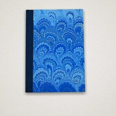 Diary Marmo blue