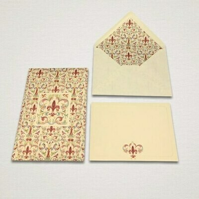 10 cards and 10 envelopes GIGLIO