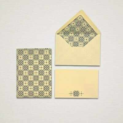 10 cards and 10 envelopes QUADRILOBO